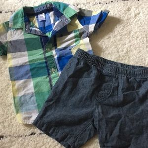 Carter's summer outfit